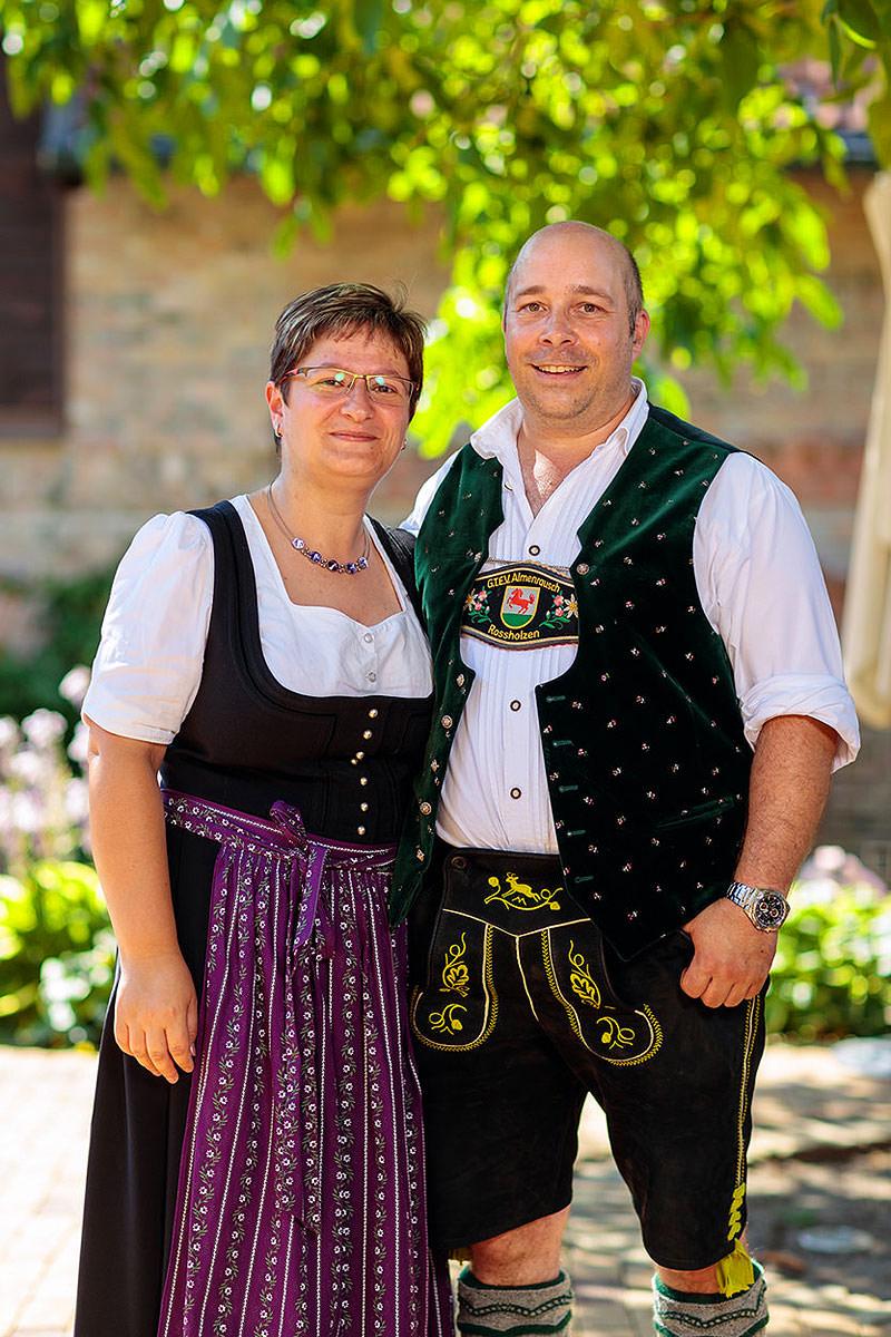 Ihre Gastgeber Martin & Jana Huber